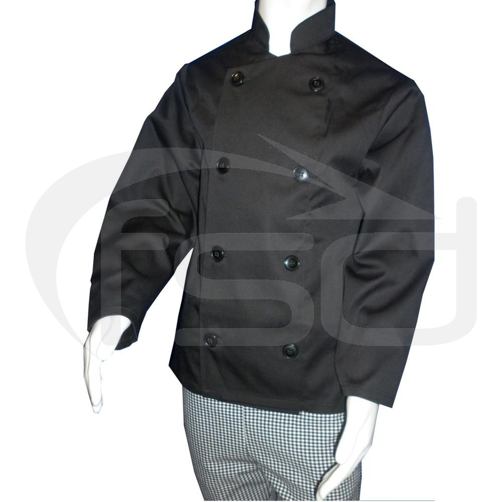 Kids Chef Jacket (Black)