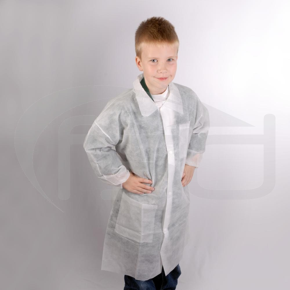 Kids Disposable Coat - Age 8-9 (2XS) One Only