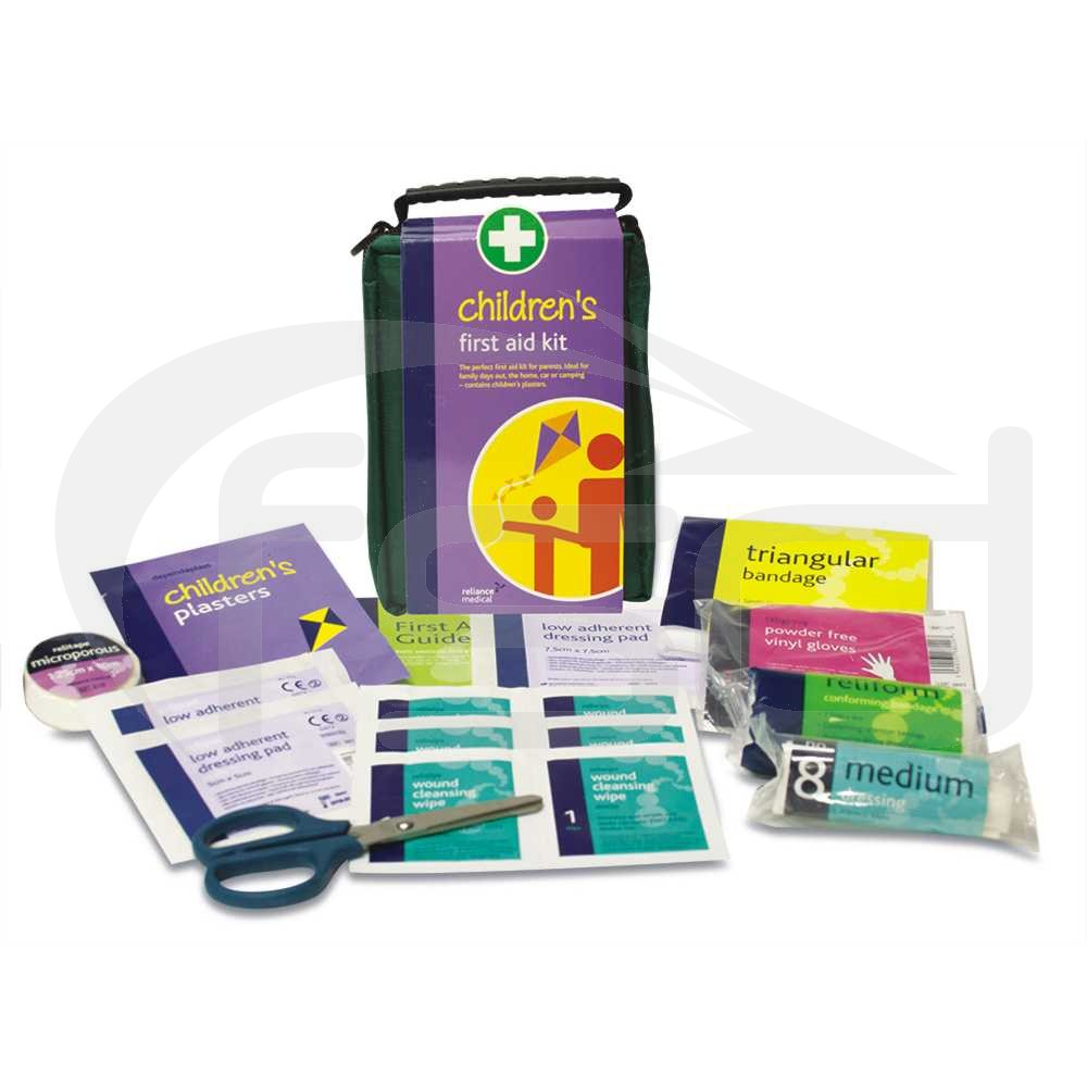 Childrens First Aid Kit in Soft Zip Bag