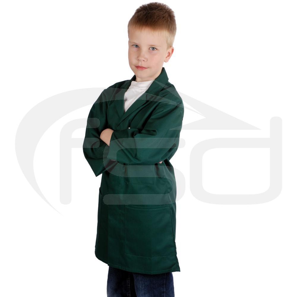 Kids Work Coat (Bottle Green)