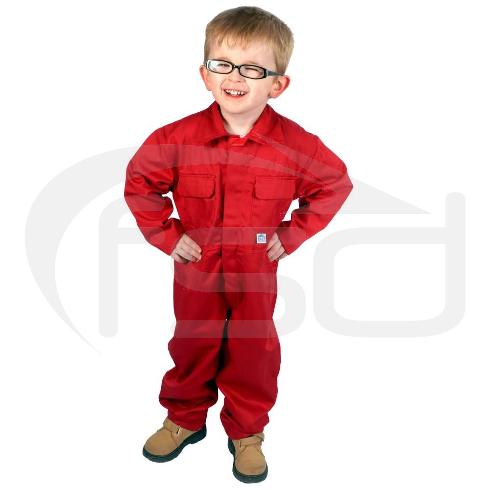 Kids Coveralls (Red)