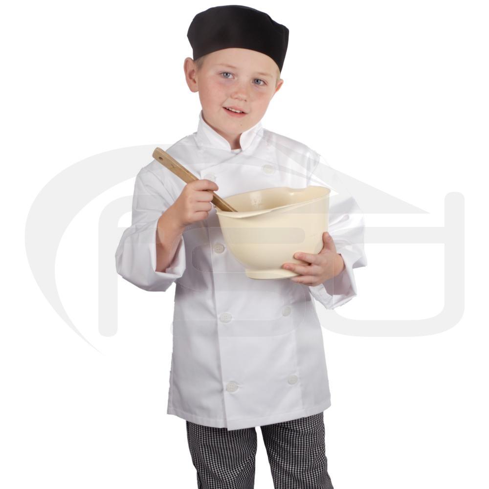 Kids Chef Jacket (White)