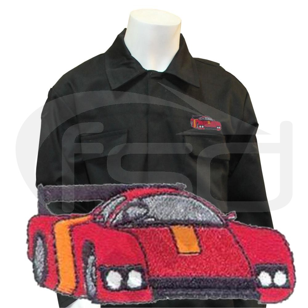 Kids Racing Car Coveralls