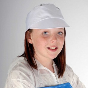 Kids Peaked Hygiene Hat