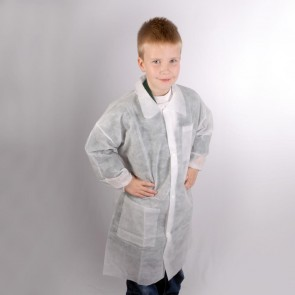 Kids Disposable Coat - Age 4-5 (4XS) One Only