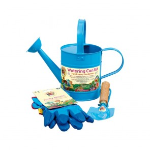 Metal Watering Can Kit (Blue)