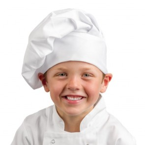 Childrens Chef Hat White