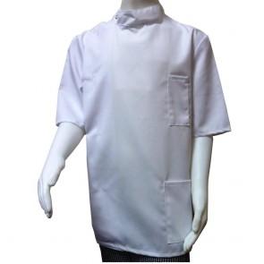 """Children's Short-Sleeved Tunic - White - 72cm (28"""") End of Line"""