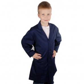 Kids Work Coat (Navy)