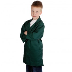 Kids Work Coat (Bottle Green)