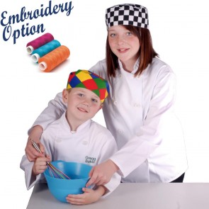 Embroidered Kids Chef Jackets