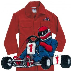 Kids Karting Coveralls