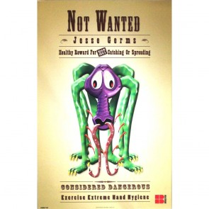 Not Wanted - Jesse Germs Poster (430x280mm)