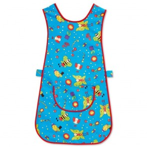 Fun Print Tabard - Blue (Size M) - End of line - New